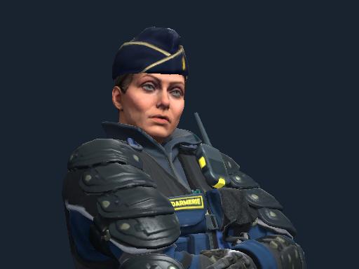 Chef d'Escadron Rouchard   Gendarmerie Nationale