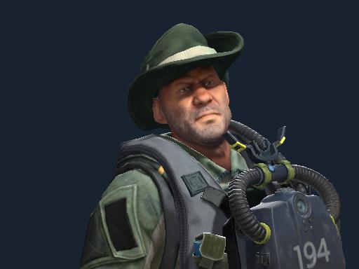 Lieutenant Rex Krikey   SEAL Frogman