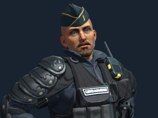 Officer Jacques Beltram   Gendarmerie Nationale