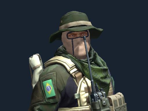 Primeiro Tenente   Brazilian 1st Battalion