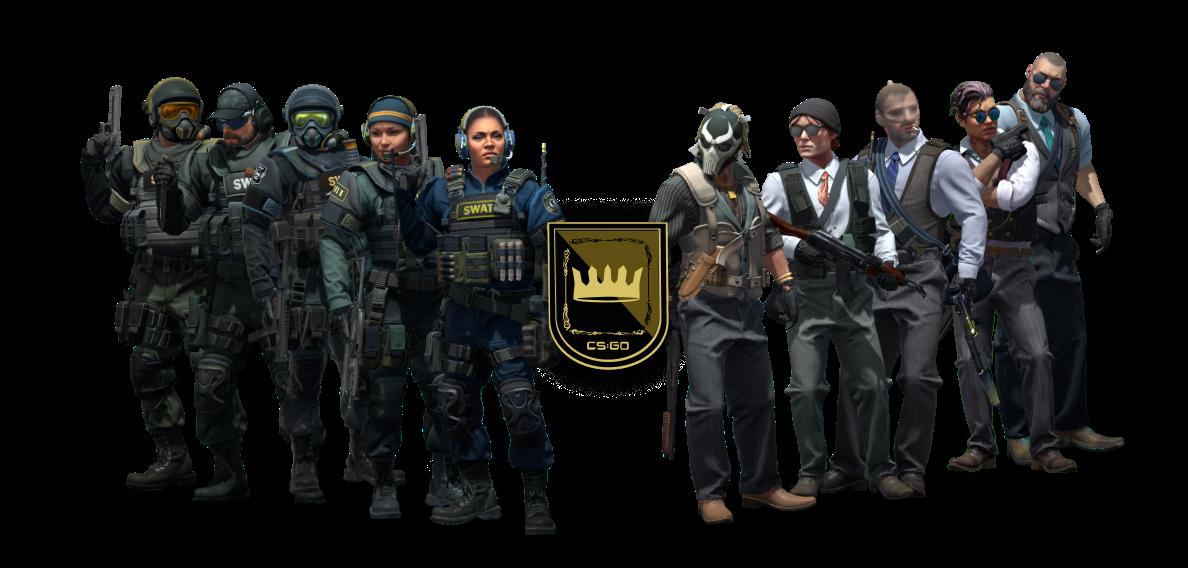 CS:GO Agents from Operation Broken Fang