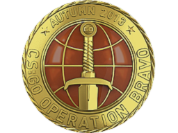 Gold Operation Bravo Coin