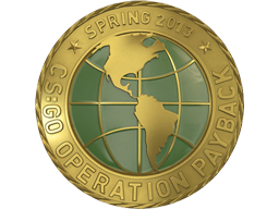 Gold Operation Payback Coin