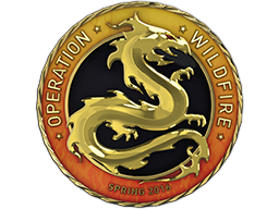 Gold Operation Wildfire Coin