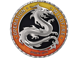 Silver Operation Wildfire Coin