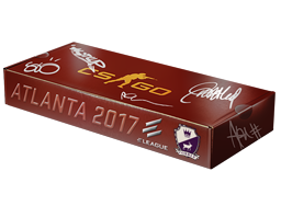 An un-opened Atlanta 2017 Cobblestone Souvenir Package