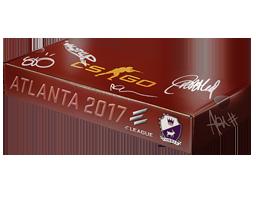 An un-opened Atlanta 2017 Cobblestone Souvenir Package