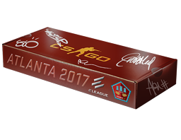 An un-opened Atlanta 2017 Mirage Souvenir Package