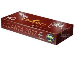 An un-opened Atlanta 2017 Nuke Souvenir Package