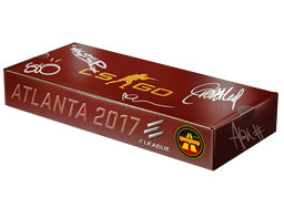 An un-opened Atlanta 2017 Overpass Souvenir Package