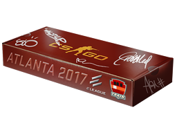 An un-opened Atlanta 2017 Train Souvenir Package