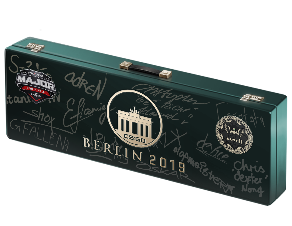 An un-opened Berlin 2019 Dust II Souvenir Package