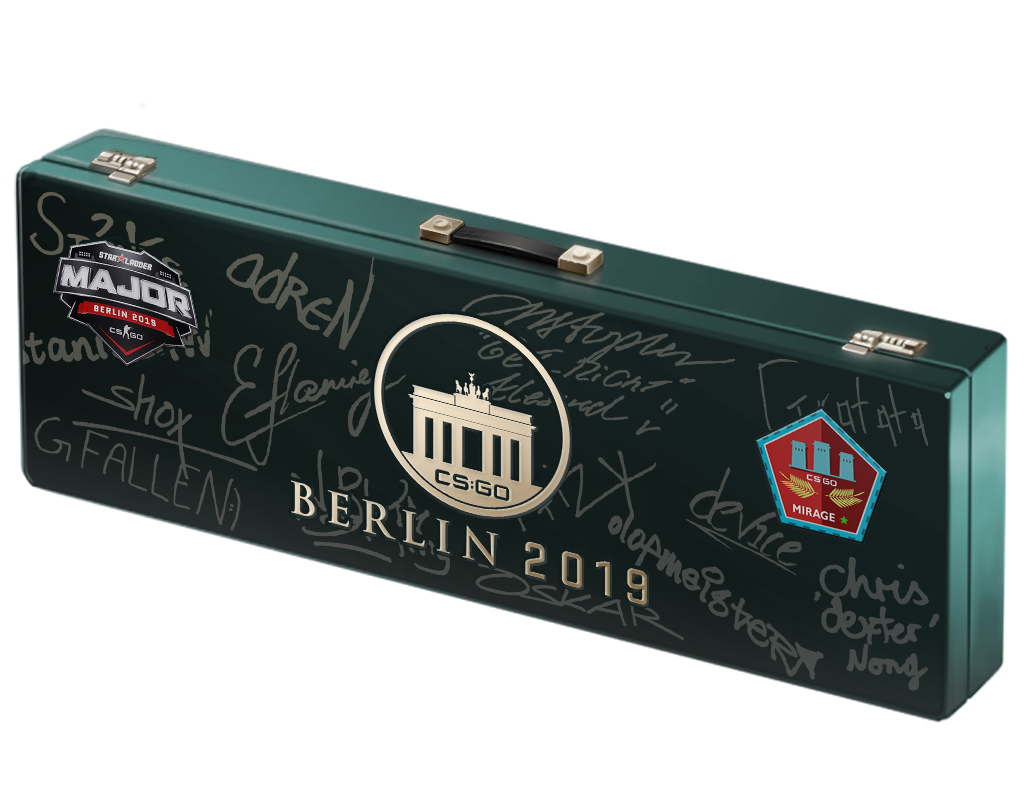 An un-opened Berlin 2019 Mirage Souvenir Package