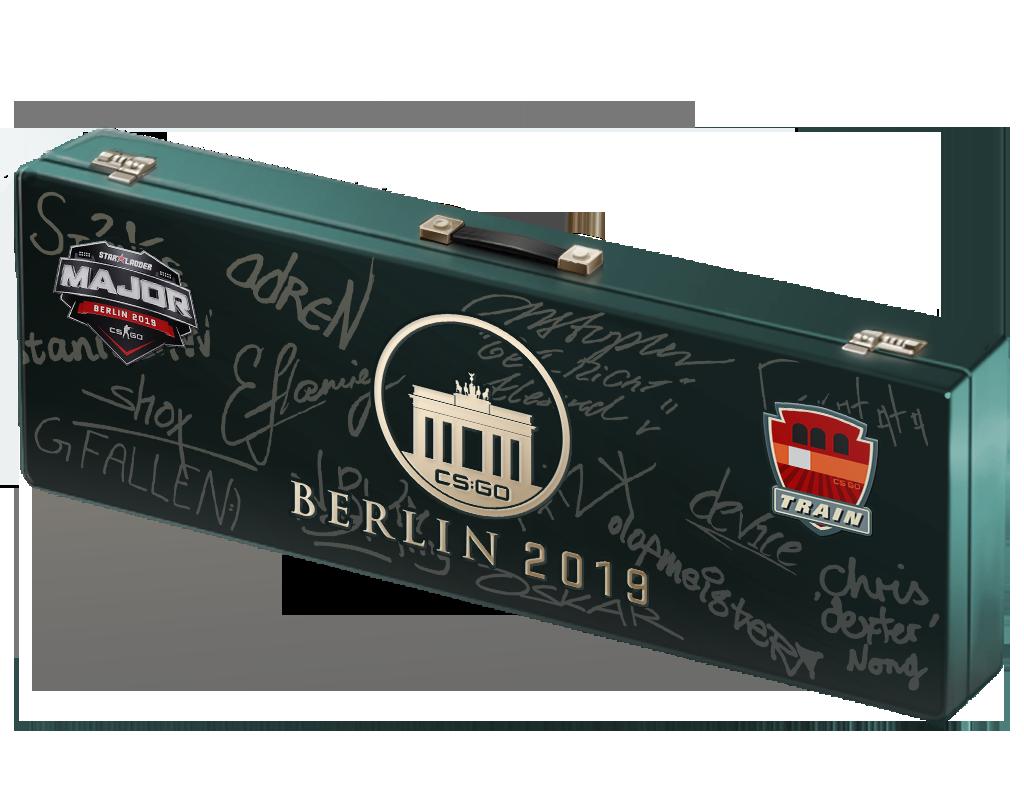 An un-opened Berlin 2019 Train Souvenir Package