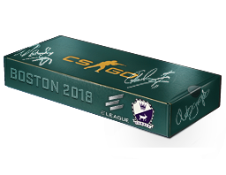 An un-opened Boston 2018 Cobblestone Souvenir Package
