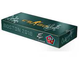 An un-opened Boston 2018 Mirage Souvenir Package