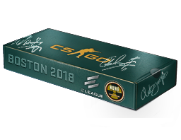 An un-opened Boston 2018 Nuke Souvenir Package