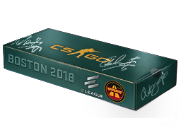 An un-opened Boston 2018 Overpass Souvenir Package