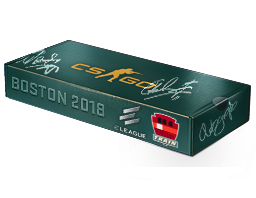 An un-opened Boston 2018 Train Souvenir Package
