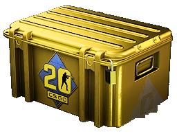 An un-opened CS20 Case