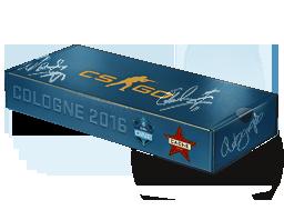 An un-opened Cologne 2016 Cache Souvenir Package