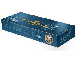 An un-opened Cologne 2016 Dust II Souvenir Package