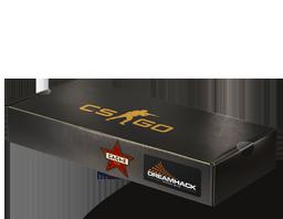 An un-opened DreamHack 2014 Cache Souvenir Package