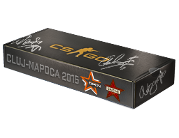 An un-opened DreamHack Cluj-Napoca 2015 Cache Souvenir Package
