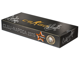 An un-opened DreamHack Cluj-Napoca 2015 Dust II Souvenir Package