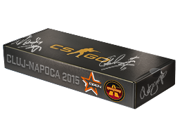 An un-opened DreamHack Cluj-Napoca 2015 Overpass Souvenir Package