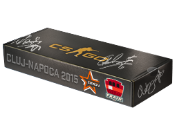 An un-opened DreamHack Cluj-Napoca 2015 Train Souvenir Package