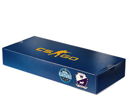 An un-opened ESL One Cologne 2014 Cobblestone Souvenir Package