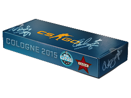 An un-opened ESL One Cologne 2015 Cache Souvenir Package
