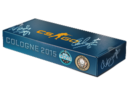 An un-opened ESL One Cologne 2015 Dust II Souvenir Package