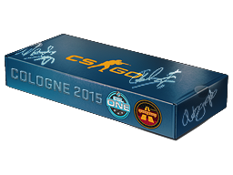 An un-opened ESL One Cologne 2015 Overpass Souvenir Package