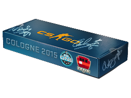 An un-opened ESL One Cologne 2015 Train Souvenir Package