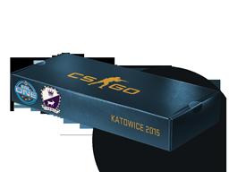 An un-opened ESL One Katowice 2015 Cobblestone Souvenir Package