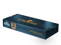 An un-opened ESL One Katowice 2015 Inferno Souvenir Package