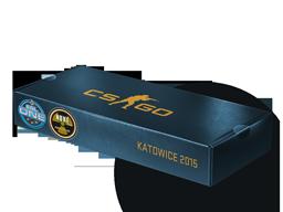 An un-opened ESL One Katowice 2015 Nuke Souvenir Package