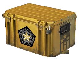 An un-opened Gamma 2 Case