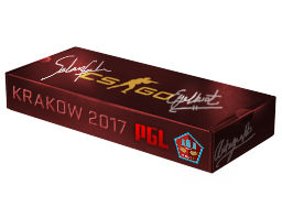 An un-opened Krakow 2017 Mirage Souvenir Package