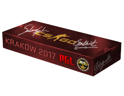 An un-opened Krakow 2017 Nuke Souvenir Package