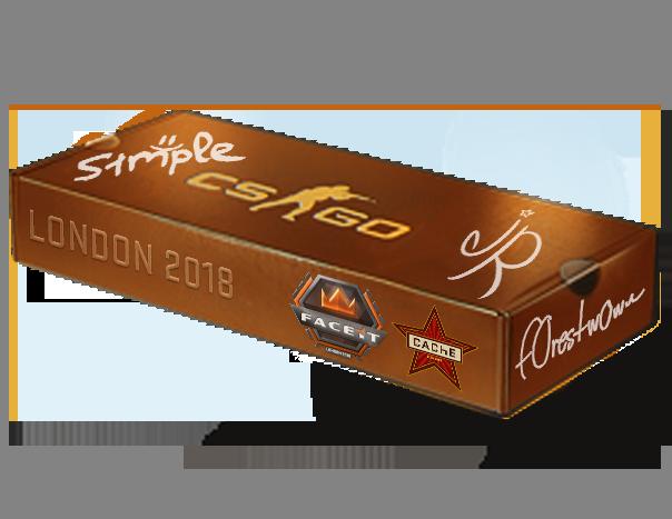 An un-opened London 2018 Cache Souvenir Package