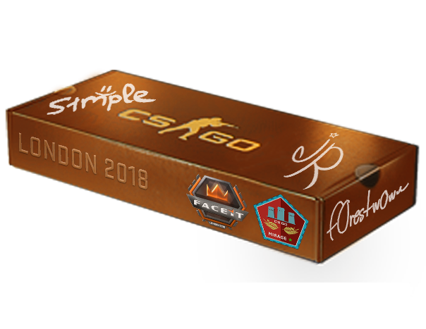 An un-opened London 2018 Mirage Souvenir Package