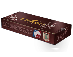 An un-opened MLG Columbus 2016 Inferno Souvenir Package