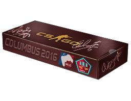 An un-opened MLG Columbus 2016 Mirage Souvenir Package