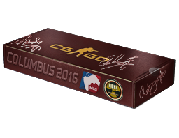An un-opened MLG Columbus 2016 Nuke Souvenir Package