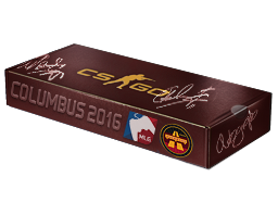 An un-opened MLG Columbus 2016 Overpass Souvenir Package