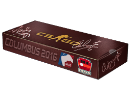 An un-opened MLG Columbus 2016 Train Souvenir Package