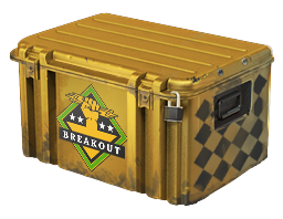 An un-opened Operation Breakout Weapon Case